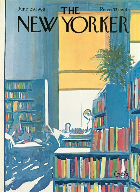 Cover Story: Anthony Russo's 'Reading Time' | New yorker ...