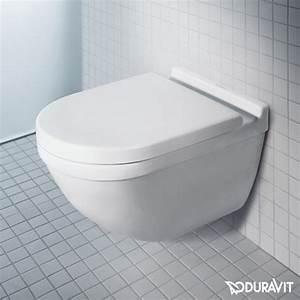 Starck 3 Wc : duravit starck 3 wand tiefsp l wc rimless set mit softclose wc sitz und verdeckter befestigung ~ Orissabook.com Haus und Dekorationen