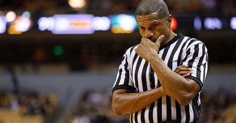 ted valentine referee mulling retirement  controversy