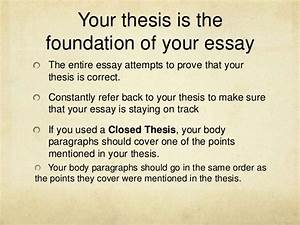 open thesis statement essay hook generator open ended thesis