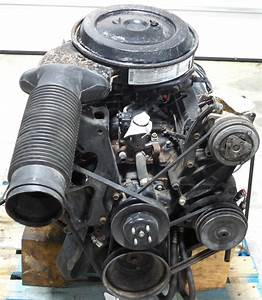 Rv Chassis Parts Used 1995 Chevy 454 V8 Gas Engine For