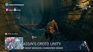 Assassin's Creed Unity Gets Co-Op Heist Gameplay Footage