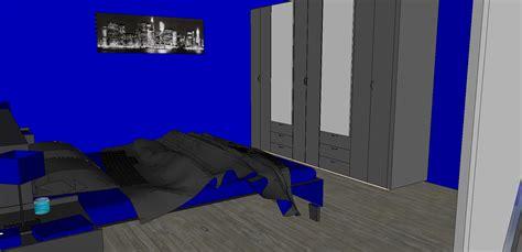 chambre couleur bleu et gris chambre bleu gris