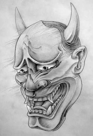 Image result for japanese hannya tattoo designs | Tattoo designs, Japanese mask tattoo, Hannya