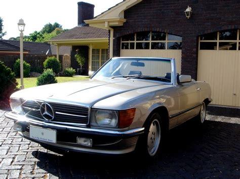 Mercedes Sl Class Modification by 380sl 1981 Mercedes Sl Class Specs Photos