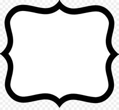How to make shapes with css. Bracket frames from puresweetjoy | Frame template, Frame ...