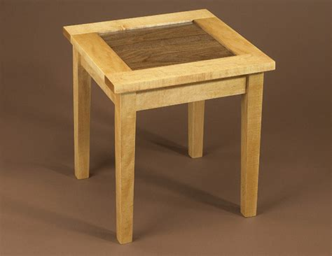 wood side table plans pdf wooden end table plans free plans free