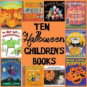 10 Halloween Children's Books - Teaching Mama