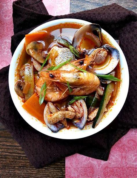 "Resep masakan korea yang lezat. Domigado   RESEP MUDAH BIKIN ""JJAMPONG"", MAKANAN KOREA YANG JADI IDOLA"