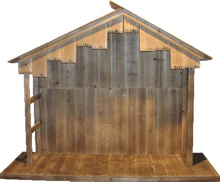 wooden woodworking plans nativity stable  plans