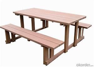 Buy Wood Plastic Composite Outdoor Table CMAX S008 Price
