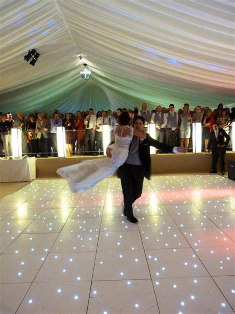 wedding dance white led dance floor ivory marquee