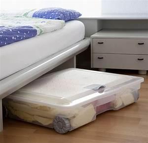 Aufbewahrungsboxen Unters Bett : unterbettbox cargo 60 l jetzt versandkostenfrei kaufen im rotho online shop ~ Frokenaadalensverden.com Haus und Dekorationen