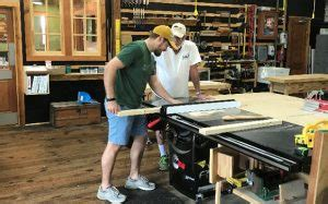 beginning woodworking class  shop class