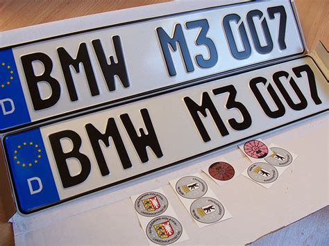 Car License Plate Motorcycle Number Plate-custom Car