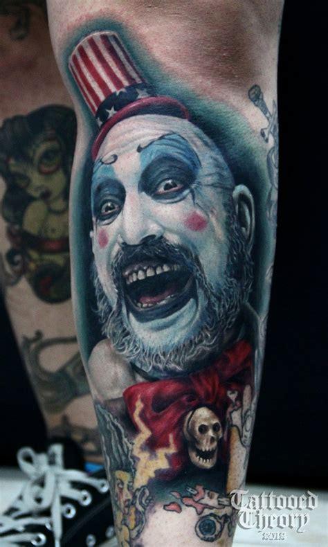 captain spaulding tattoo  bluehyper  deviantart
