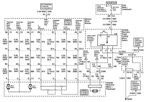 Rearview Mirror Wiring Diagram 2005 Chevy Silverado by Repair Guides Mirrors 2002 Outside Mirror