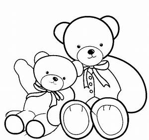 83+ [ Small Bear Coloring Page ]  Three Bears Colouring Goldilocks And The Coloring P Little