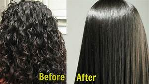 Permanent Hair Straightening At Home In 3 Ways Silk