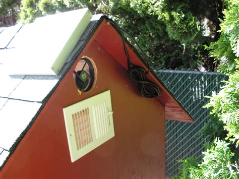 chicken coop ventilation fans hen house vegetablegardenhub com