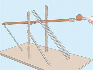How to build a catapult wikihow, outdoor woodworks