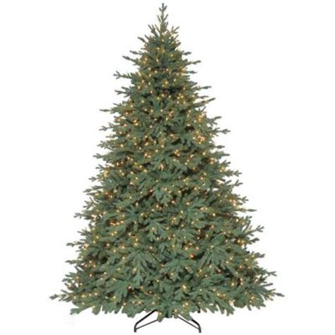 martha stewart pre lit christmas tree replacement kit 9 ft royal spruce set artificial tree with 1300 clear lights tg90p4417s00 the