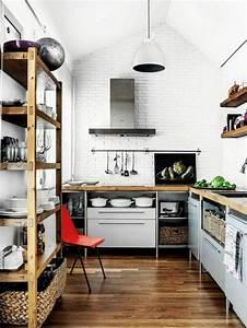 Küchen Wandregale : ber ideen zu kleine k chen auf pinterest k chen ~ Pilothousefishingboats.com Haus und Dekorationen