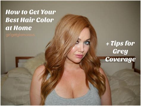best home hair color for gray how to get your best at home hair color my strawberry