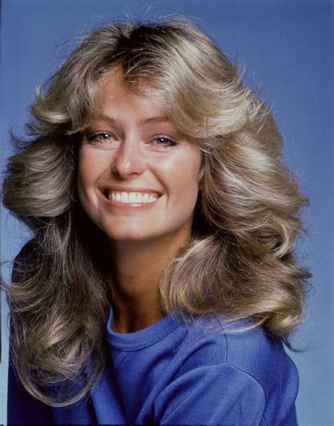 Farrah fawcett became the first on the list of all the most iconic hairstyles in the 70's. Farrah Fawcett was ICONIC for her 70s blown out, winged ...
