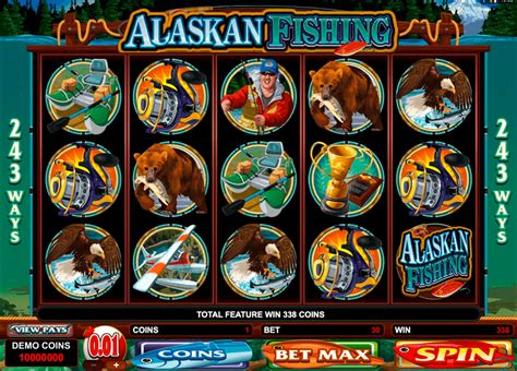 play alaskan fishing  slot microgaming casino slots