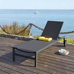 Bain De Soleil Gris : bain de soleil en toile plastifi e gris anthracite antalya ~ Dode.kayakingforconservation.com Idées de Décoration