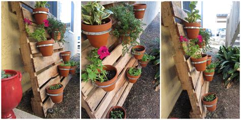 protection pot de fleur diy pallet planter this abundant