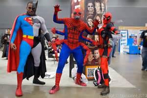 Superman Batman Spider Man and Deadpool