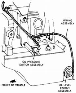 where is the oil pressure sensor located on a 2005 ford With which of the four wires on a 2006 mazda 3 ac pressure switch