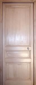 porte en pin a 3 panneaux portes interieures portes With porte de garage enroulable avec porte intérieure en pin
