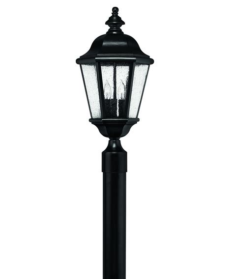 l post light fixtures hinkley lighting 1671 edgewater 3 light outdoor post l