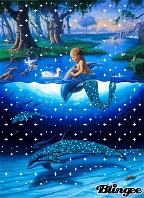 dolphin glitter picture  blingeecom