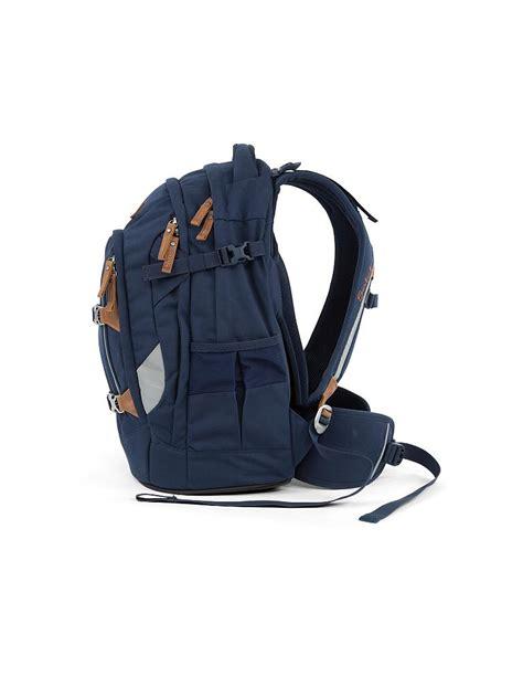 satch schulrucksack satch pack true blue  blau