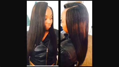 Brazilian Body Wave Hair Sewn In & Straightened 20,22,24