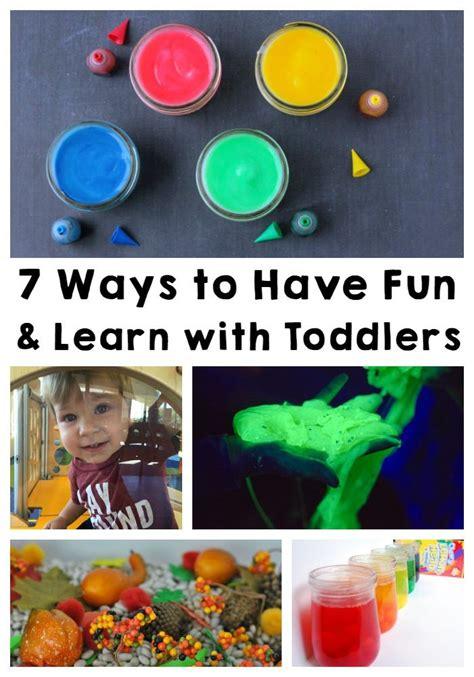ways   fun learn  toddlers