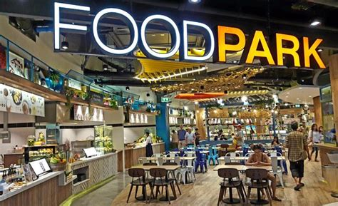 stores cuisine food park picture of central marina pattaya tripadvisor