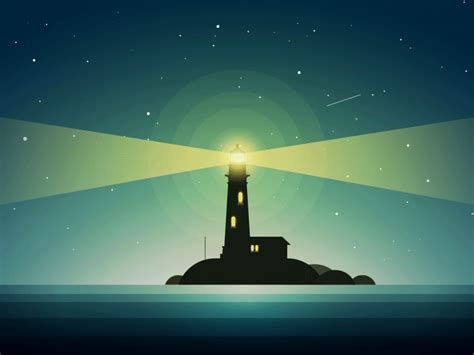 Animated Lighthouse Wallpaper - the lighthouse in animated lighthouse animation
