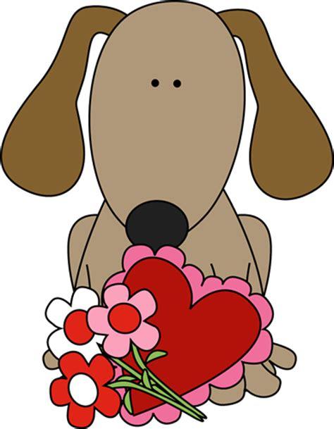 Dog Valentine's Day Clip Art