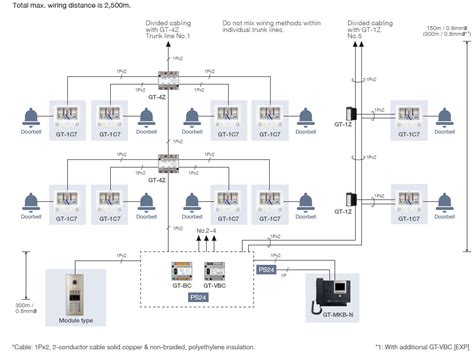 aiphone wiring diagrams for gt basic intercom wiring