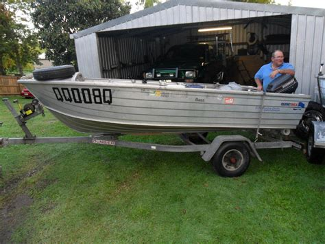 Boat Trailer Parts Gympie for sale quintrex tinny motor and trailer