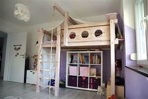 Selber Ein Haus Bauen : hochbett selbst gebaut bauanleitung f r ein massives hochbett ~ Bigdaddyawards.com Haus und Dekorationen