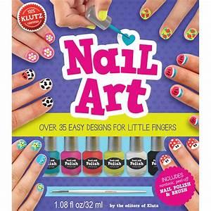 Nail Art Book Kit - Walmart Com