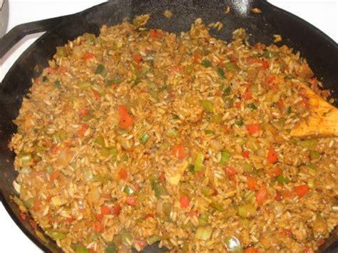 vegetarian dirty rice recipe sparkrecipes