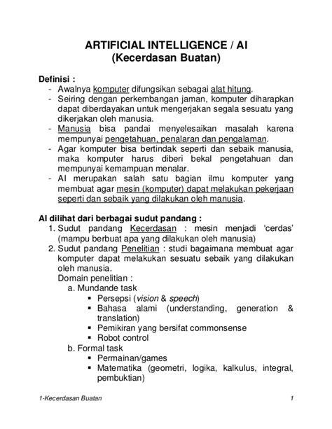 JURNAL KECERDASAN BUATAN PDF