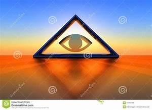 Triangle And Eye Stock Image - Image: 19354311